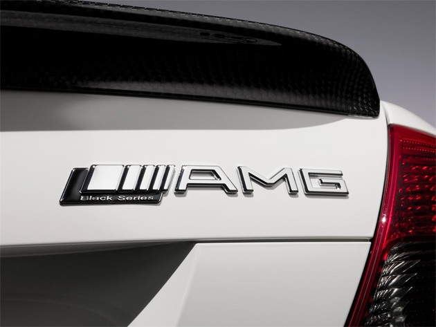 Mercedes-Benz AMG Black Series badge