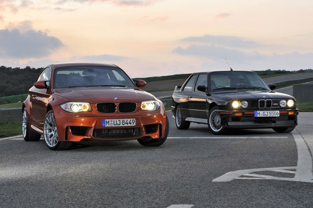 BMW 1 Series M Coupe and E30 M3 – Click to watch the video after the ...