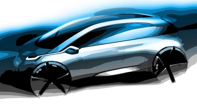 BMW MegaCity design sketch