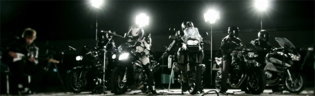 BMW Motorrad holiday greeting