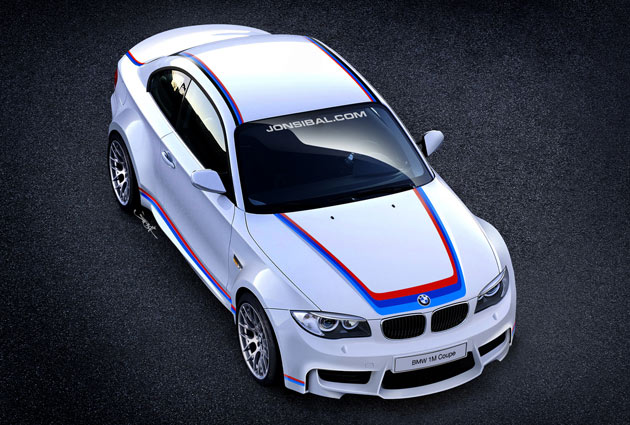 BMW 1M Coupe rendering