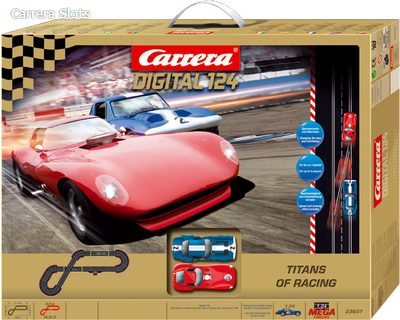 Carerra Titans of Racing slot car track