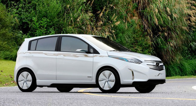 Chevrolet Sail Electric Concept Vehicle