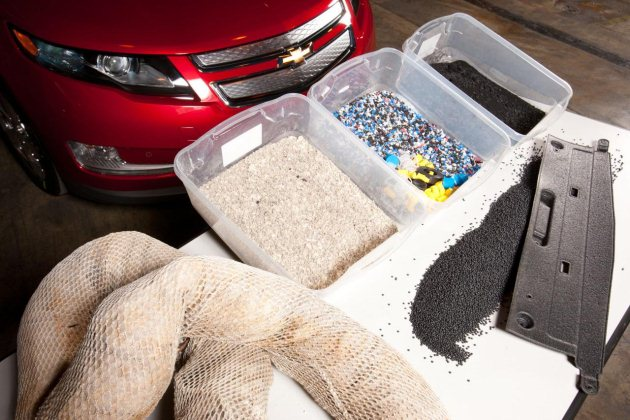 2011 Chevrolet Volt recycled boom material