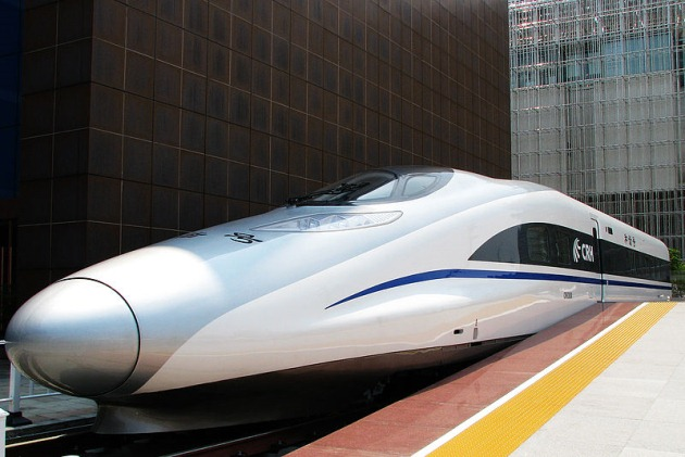 CRH-2 380A high speed train