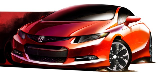 Civic Concept Sketch