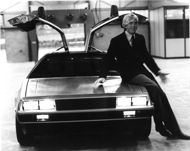 George Clooney as John DeLorean