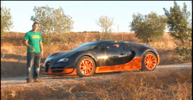 Bugatti Veyron Super Sport with EVO's Chris Harris