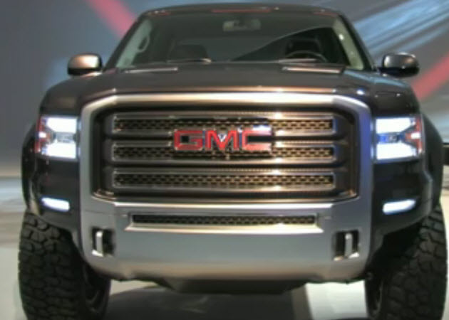 PickupTrucks.com checks out the GMC Sierra All-Terrain HD concept