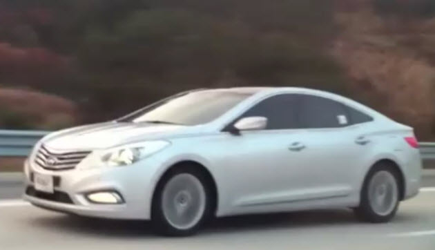 Hyundai Grandeur video screencap