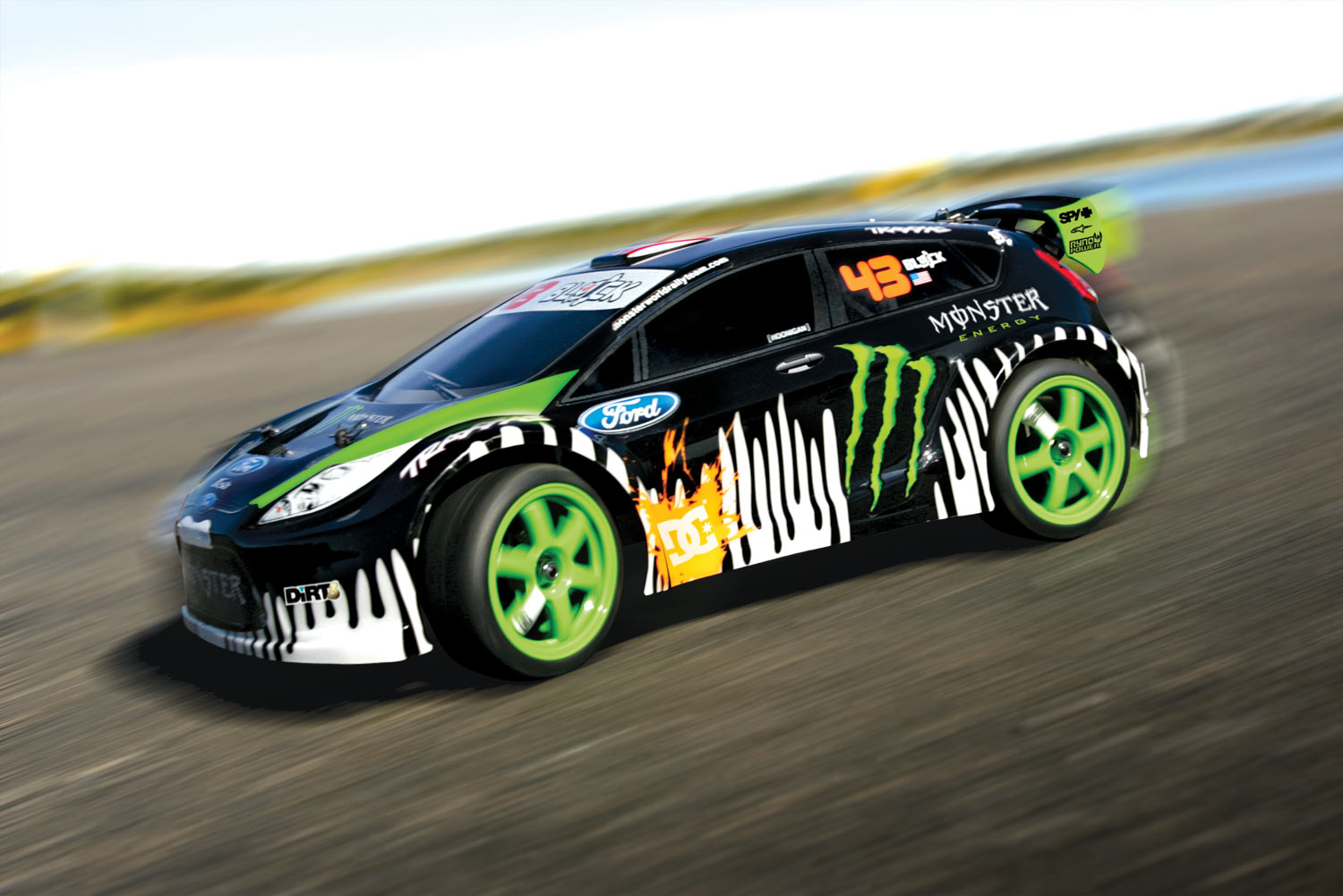 ken block 39 s official rc gymkhana car arrives just in time for christmas w video. Black Bedroom Furniture Sets. Home Design Ideas