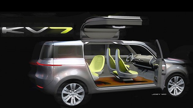 2011 Kia Kv7 Concept. Kia is bringing its KV7