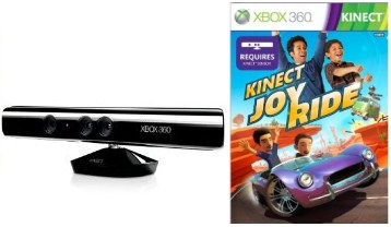 Microsoft Kinect and Joy Ride