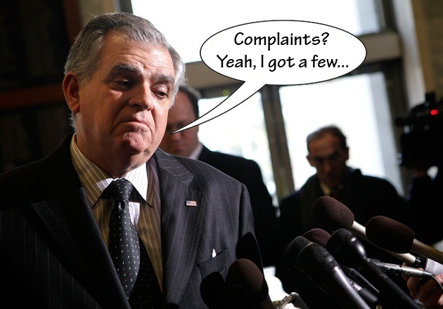 Ray LaHood complaints