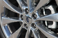 2011 Ford Flex Titanium wheel detail