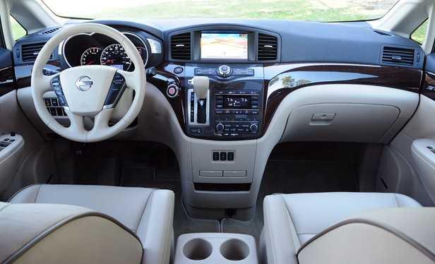 2011 Nissan Quest interior