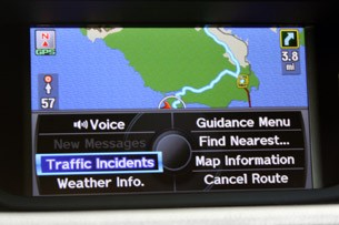 2011 Acura TSX Sport Wagon navigation system