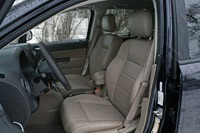 2011 Jeep Compass Limited front seats