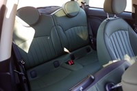 2011 Mini Cooper rear seats