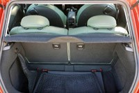 2011 Mini Cooper rear cargo area