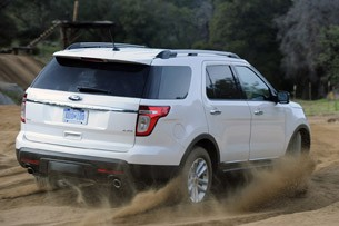 2011 Ford Explorer off road