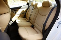 2011 Hyundai Elantra rear seats