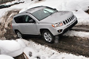 2011 Jeep Compass Limited off road