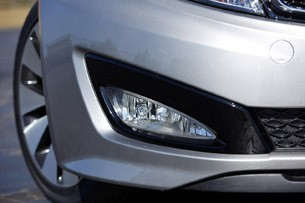 2011 Kia Optima 2.0T front fascia