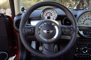 2011 Mini Cooper steering wheel