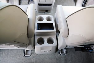 2011 Nissan Quest center console