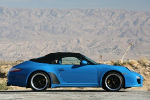 2011 Porsche 911 Speedster side view