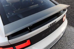Audi Quattro Concept rear wing