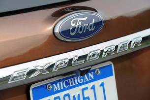 2011 Ford Explorer rear badge