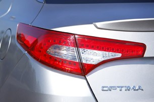 2011 Kia Optima 2.0T taillight