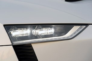Audi Quattro Concept headlight