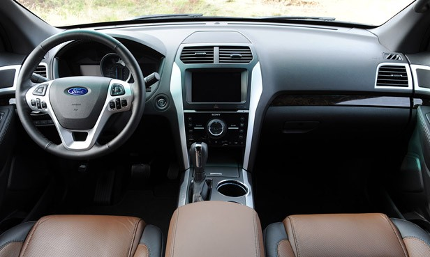 2011 Ford Explorer interior