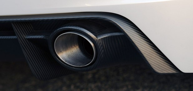 Audi Quattro Concept exhaust system
