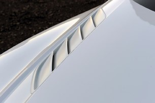 Audi Quattro Concept hood vents
