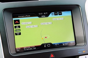 2011 Ford Explorer navigation system