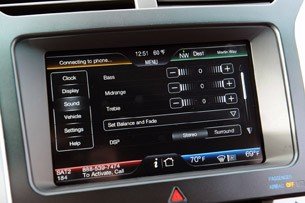 2011 Ford Explorer climate controls