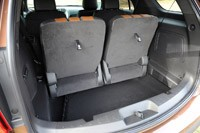 2011 Ford Explorer cargo area