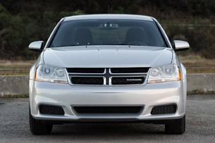 2011 Dodge Avenger front view