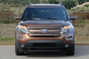 2011 Ford Explorer front view
