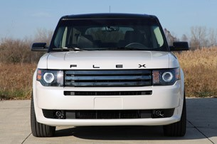 2011 Ford Flex Titanium front view
