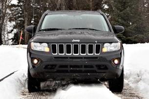 2011 Jeep Compass Limited front view