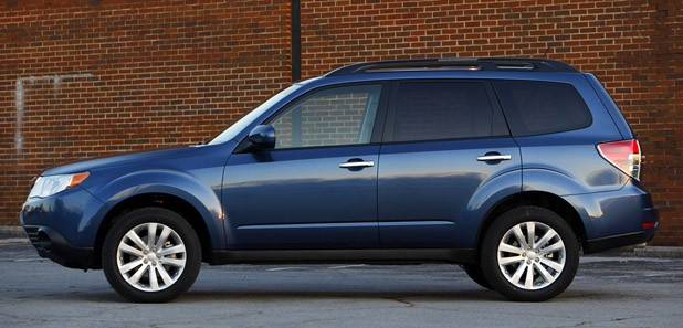 2011 Subaru Forester side view