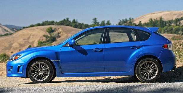 2011 Subaru Impreza WRX side view