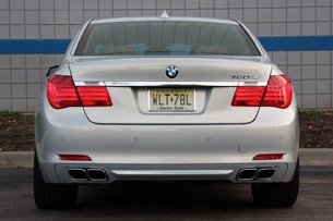 2010 BMW 760Li rear view