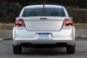 2011 Dodge Avenger rear view