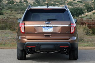 2011 Ford Explorer rear view